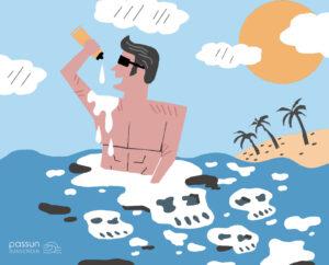ครีมกันแดด ทำร้ายปะการัง