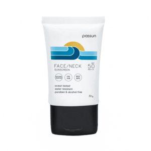 ครีมกันแดด passun face/neck sunscreen 30g